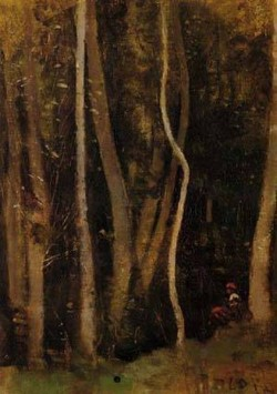 Figures in a Forest 1850 1860