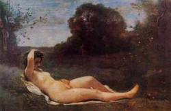 Reclining Nymph 1855