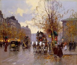 Omnibus on Place Madeleine