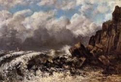 Seascape at Etretat 1869