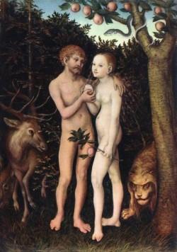 The elder adam and eve 1533