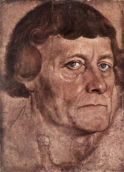 The elder portrait of a man