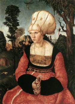 The elder portrait of anna cuspinian