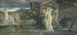 Study for the fate of persephone