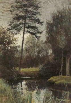 The pool 1908