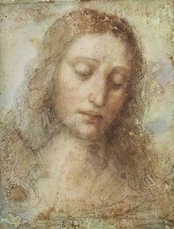 Leonardo da Vinci Head of Christ c1494 5
