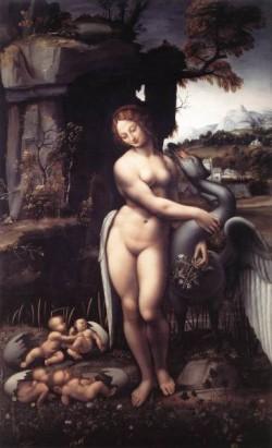 Leonardo da Vinci Leda 1508 15