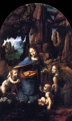 Leonardo da Vinci Madonna of the Rocks 1491