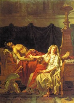 Andromache Mourning Hector cgf