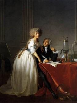 Portrait of Antoine Laurent and Marie Anne Lavoisier