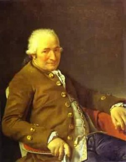 Portrait of charles pierre pecoul contractor of royal buildi