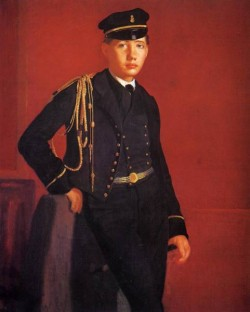 Achille De Gas in the Uniform of a Cadet