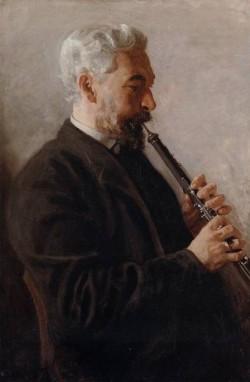 The Oboe Player aka Portrait of Benjamin