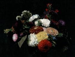 Fantin Latour Dahlias 1873