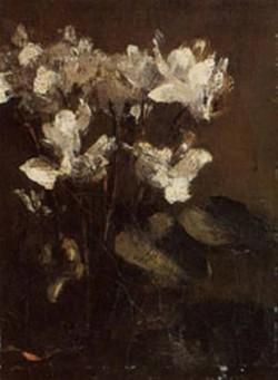 Fantin Latour Fleurs cyclamens