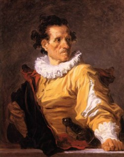 Jean Honore Portrait of a man called the warrior