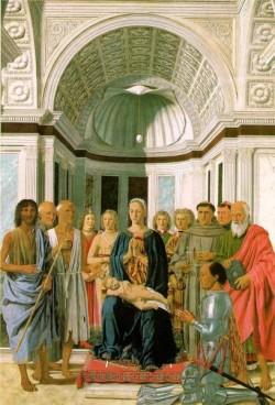 PIERO della FRANCESCA Madonna And Child With Saints