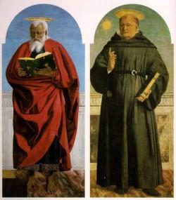 PIERO della FRANCESCA Polyptych Of Saint Augustine 2