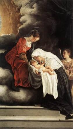The Vision Of St Francesca Romana