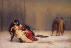 Duel after a Masked Ball 1857