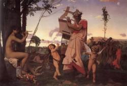 Gerome Anachreon Bacchus et l amour