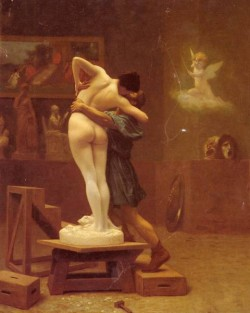 Gerome Pygmalion And Galatea