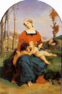 The Virgin the Infant Jesus and St John