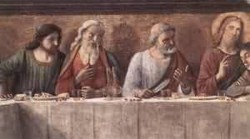 Last supper detail 3 1480 florence