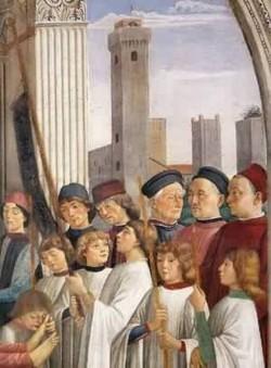 Obsequies of st fina detail 1473 75 san gimignano