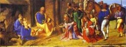 Adoration of the magi 1502 1504 national gallery london uk