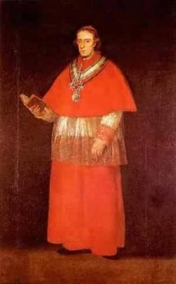 Cardinal luis maria de borbon y vallabriga 1800 museo del