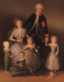 The Duke and Duchess of Osuna and their Children CGF