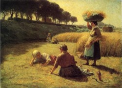 Gleaners at Rest aka Nooning
