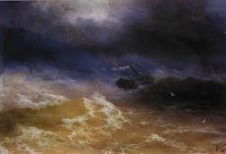 Storm on sea 1899 ibi