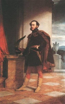 Portrait Of Count Istvan Szechenyi