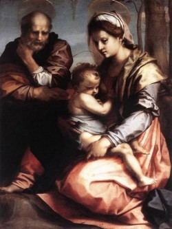 Holy Family barberini