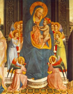 Fiesole Altarpiece detail