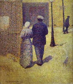 Couple in the street 1887 xx musee dorsay paris france