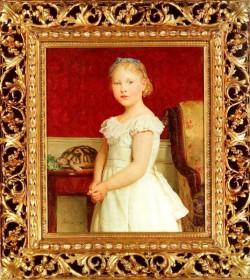 Bildnis Dora Luthy 1900
