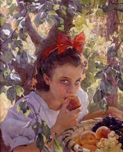 Pons Arnau Francisco Comiendo fruta