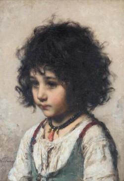 Harlamoff Alexej Young Girl