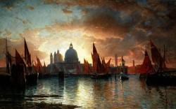 Santa Maria Della Salute Sunset