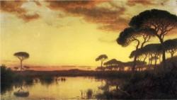 Sunset Glow Roman Campagna