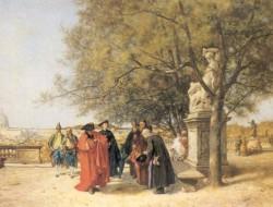 Gardens of the Vatican 1870