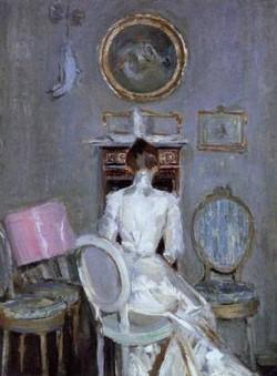 Madame Helleu in Her Husbands Studio