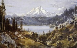 Mount Shasta from Castle Lake