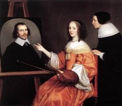 Margareta Maria De Roodere And Her Parents