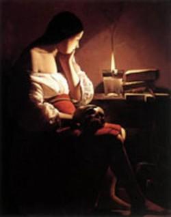 The penitent magdalen 1638 43 metropolitan museum of art new york