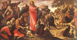 Miracle Of The Bread And Fish