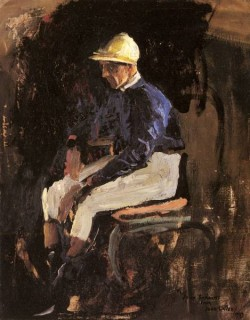 A Portrait Of Joe Childs The Rothschilds Jockey
